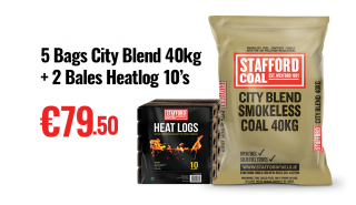 city blend smokeless coal 40kg dublin wicklow delivery