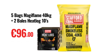 Magiflame smokeless coal dublin wicklow delivery